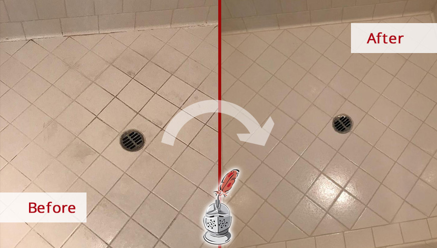 A Grout Sealing Job in Austin Enhanced